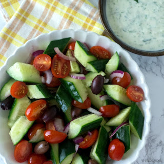 Greek Cucumber Tomato Yogurt Salad Recipes