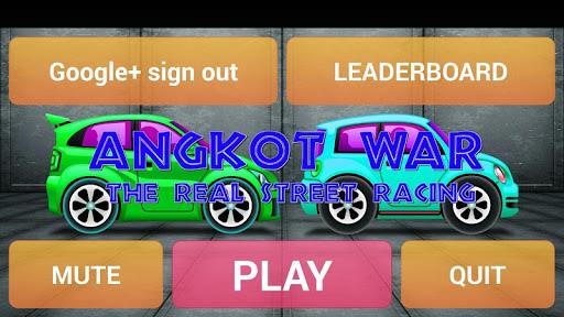 Angkot War Real Street Racing
