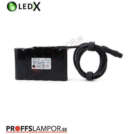 Tillbehör Batteri LEDX