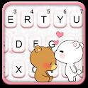 Bear Love Keyboard Theme icon
