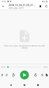 Gravador grátis de áudio MP3 ASR [Pro Unlocked] 6