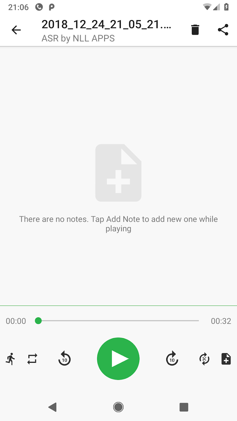 MP3 Voice and Audio Recorder - ASR Screenshot 5