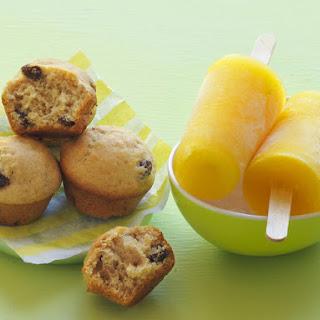 Cinnamon Raisin Muffins.