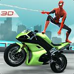 Amazing Spider 3D Hero: Moto Rider City Escape icon