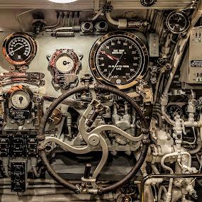 World War II Submarine by Jeffrey Hechter - Transportation Other ( world war ii, submarine )