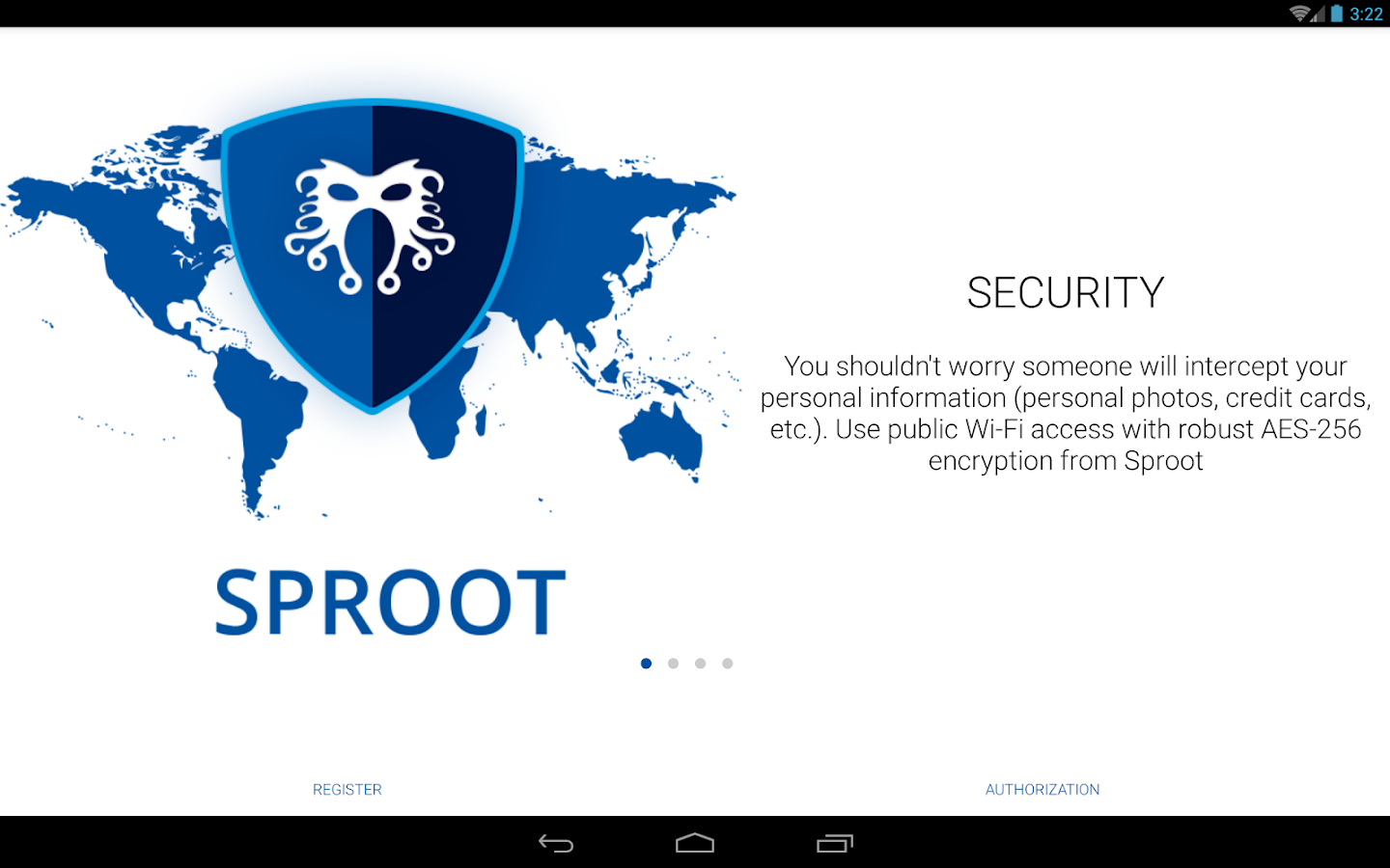VPN SPROOT- screenshot