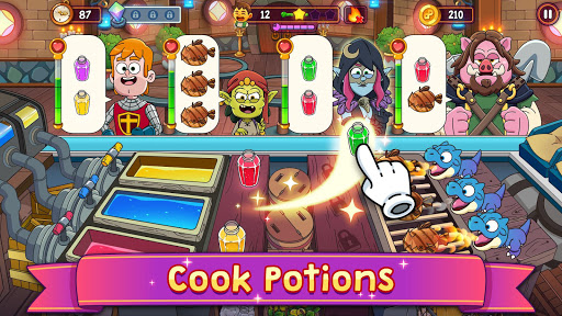 Potion Punch 2: Fantasy Cooking Adventures apkslow screenshots 1
