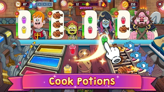 Potion Punch 2: Fantasy Cooking Adventures MOD (Money) 1