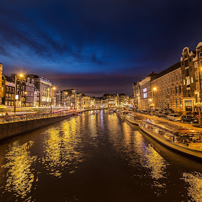 Amsterdam by Nicholas  H - City,  Street & Park  Vistas