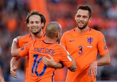 Fantastisch eerbetoon én goal voor recordman Sneijder, maar WK verder weg voor Oranje (mét beelden)