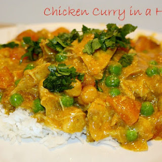 Chicken Curry in a Hurry- Crock Pot