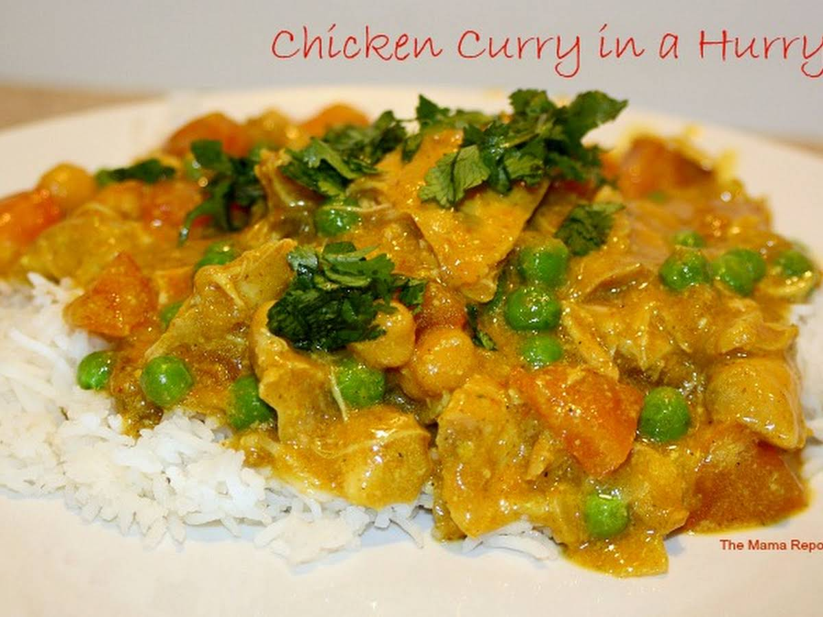 Chicken Curry In A Hurry Crock Pot