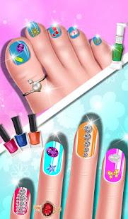 Fashion Doll Nail Art Salon Games - Apps on Google Play