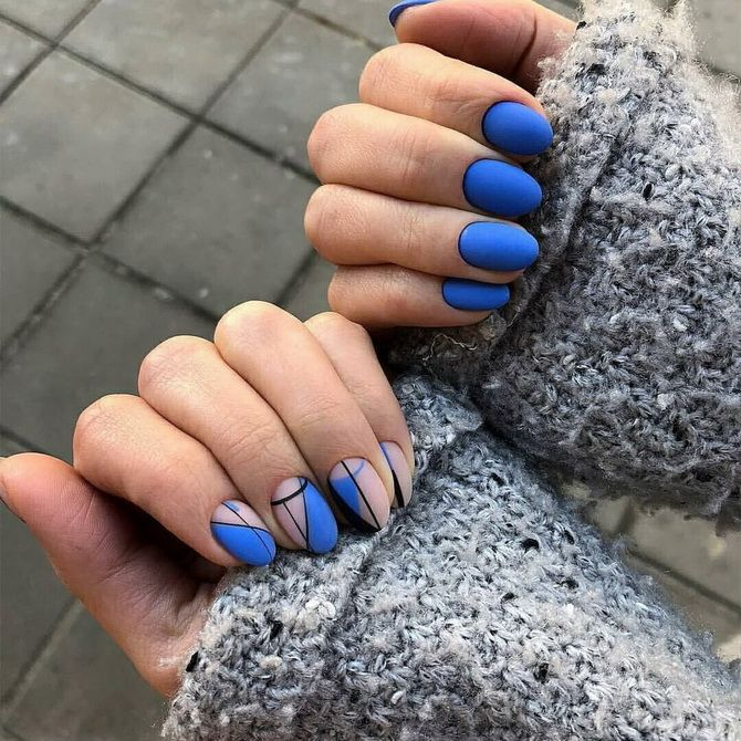 Trends of modern manicure for short nails