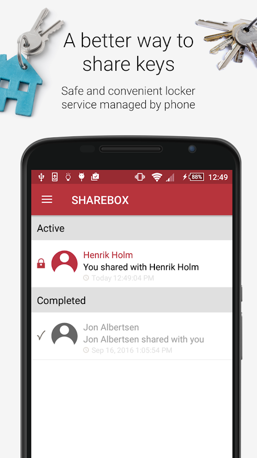Sharebox- screenshot