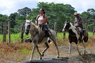 Photo: Local transportation still useful ...
