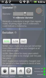 Doctor Mole - Skin cancer app- screenshot thumbnail