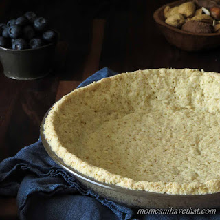 Basic Gluten-Free Low Carb Almond Flour Pie Crust (for Cream Pies and Cheesecakes) Recipe