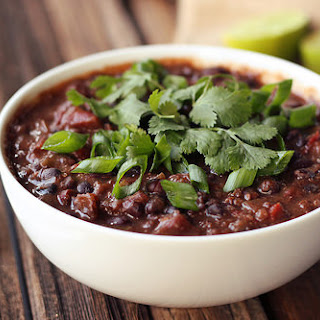 Chipotle Black Bean and Quinoa Crock-Pot Stew – Vegan + Gluten-free