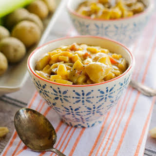 Harvest Potato Corn Chowder.
