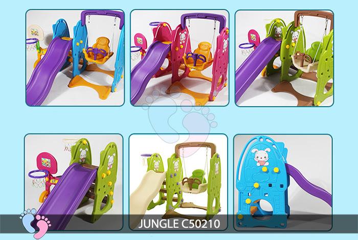 Cầu trượt cho bé Jungle C50210 1