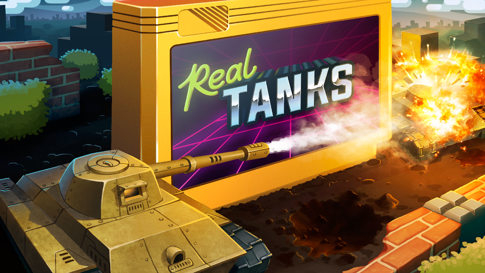 Dendy Tanks- screenshot