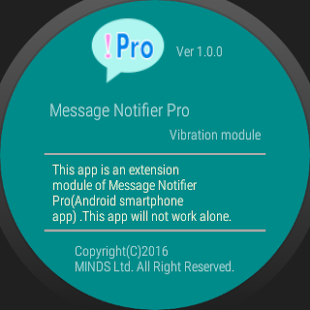 App Message Notifier Pro - custom sound/vibe/LED APK for Windows Phone