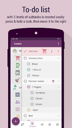 time planner schedule to do list time tracker androidアプリ
