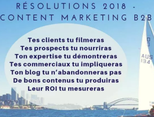 Content Marketing Résolutions