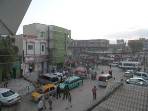 Photo: Downtown Hargeisa -- viewed from my hotel window