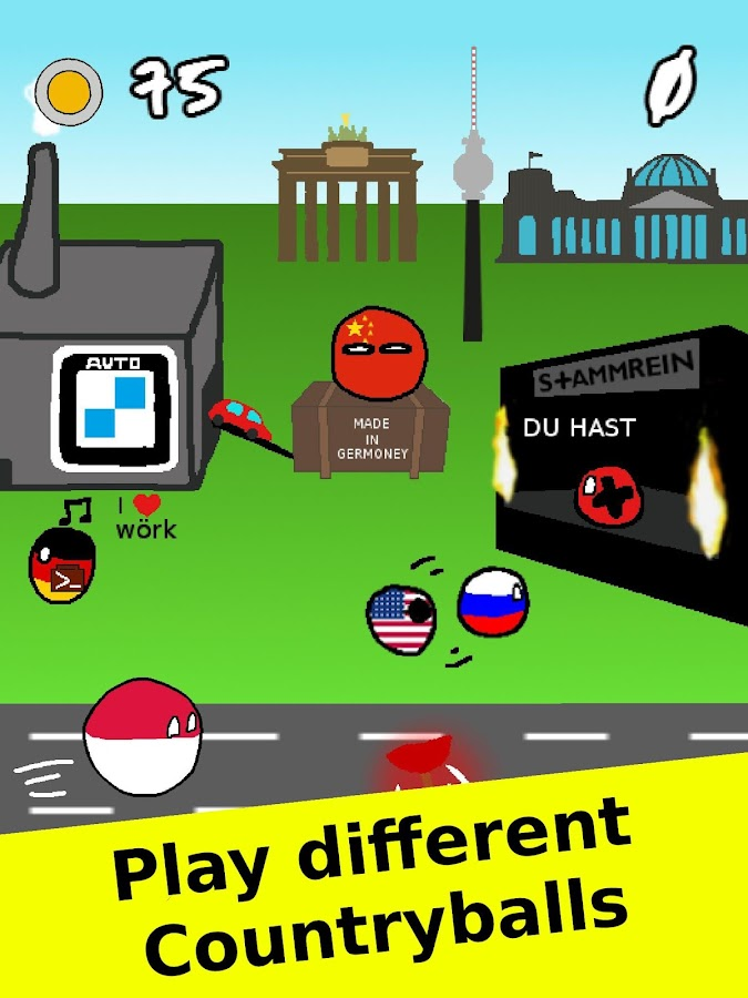 Countryballs polandball game android apps on google play for Picture on wall app