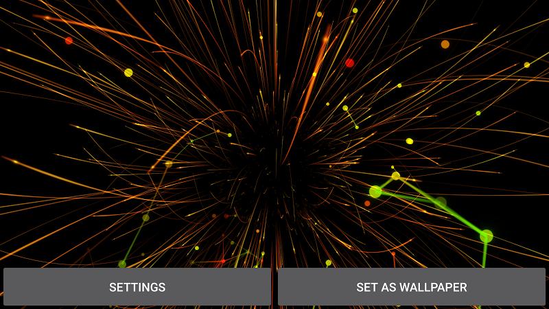 Abstract Particles Wallpaper Screenshot 9