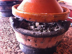Photo: Cooking a tagine