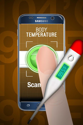 Body Temperature Checker Prank - screenshot