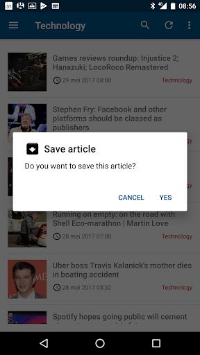 Guardian Reader screenshot 5