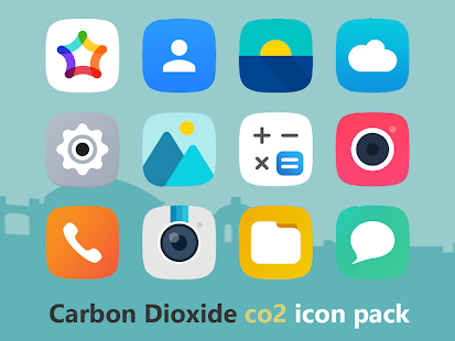 CO2 - Carbon Dioxide Icon Pack Screenshot
