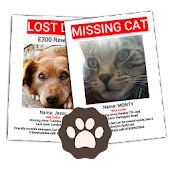 Lost Dog Cat Poster Generator