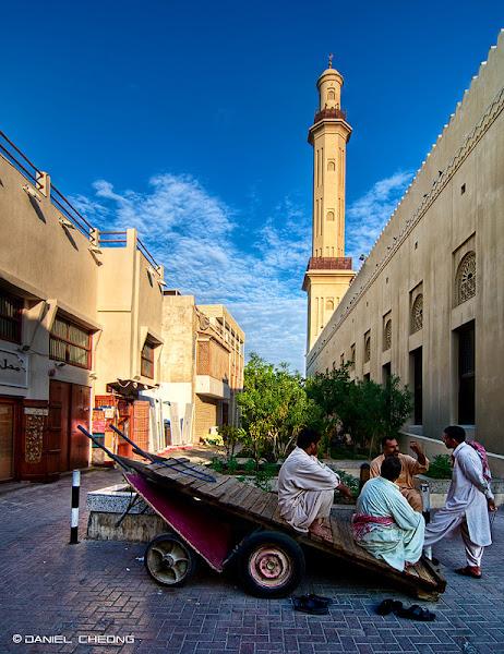 Photo: Streets of Old Dubai