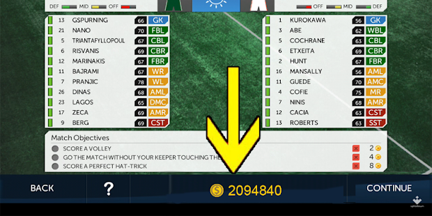 dream League Soccer cheatprank screenshot