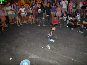 Photo: This little kid was a break dancing pro. He must have been only about 8 or 9 years old.