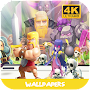Clash wallpapers HD fanart APK icon