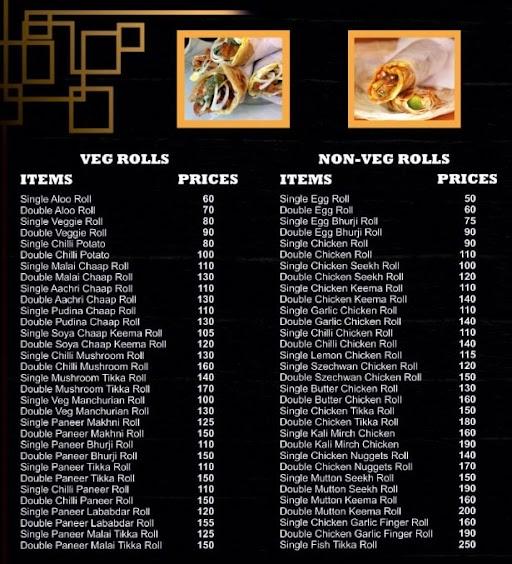 Chattore Dilli Ke menu 3
