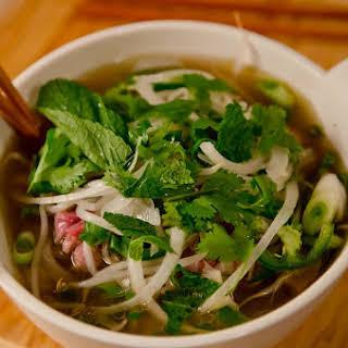 Little Saigon Beef Noodle Soup.