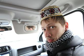 Photo: Tradicinis galvos apdangalas.  Traditional headwear.