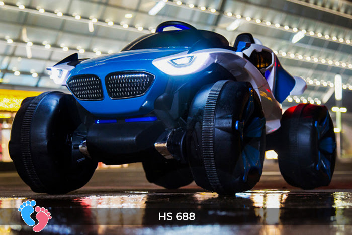 Xe hơi điện địa hình 4 động cơ HS-688 4