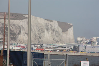 Photo: Day 5 - White Cliffs of Dover! Hoorah!