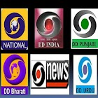 DD INDIA, SPORTS & DD CHANNELS LIVE icon