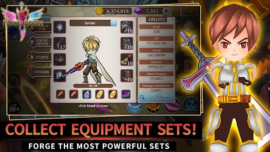 Endless Quest: Hades Blade MOD Apk 1.38 (Unlimited Money) 1