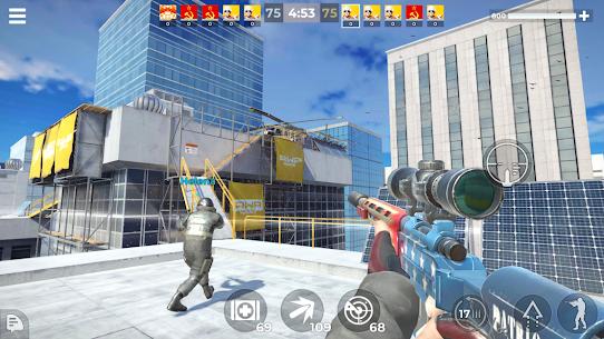 AWP Mode: Elite online 3D sniper action MOD APK (Unlimited Money) 1