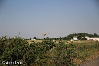 Photo: Noen trener på landingsrunder